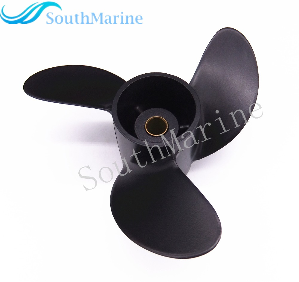 3R1W64516-0 Outboard Propeller 7.8x8 for Tohatsu / Nissan 4HP 5HP 6HP Outboard Motors  7.8 x 8 ,Free Shipping