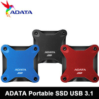 ADATA Portable SSD 240 GB 480GB 3D NAND 960GB USB3.1 Ultra Speed External Solid State Drive Read up to 440 MB/s ssd externe