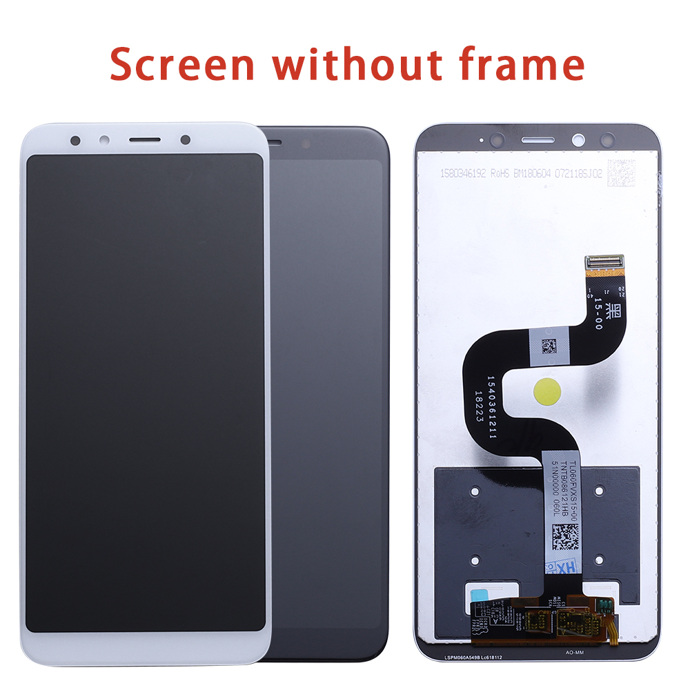 Image 2 - For Xiaomi Mi A2 MIA2 LCD Display Digitizer Touch Screen Assembly for Xiaomi Mi 6X MI6X Replacement Repair Parts White 5.99 inch-in Mobile Phone LCD Screens from Cellphones & Telecommunications