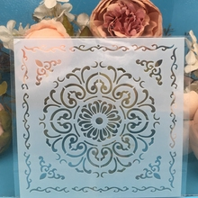 "Buy 5.9"" Flower Circle DIY Craft Layering Stencils Wall Painting Scrapbooking Stamping Embossing Album Paper Card Template F5561 directly from merchant!"