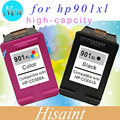 2 pcs for hp901 Ink Cartridge For Hp 901 For Hp 4500 J4580 J4550 J4540 wireless J4680 J4524 J4535 J4585 for hp 901xl on sell