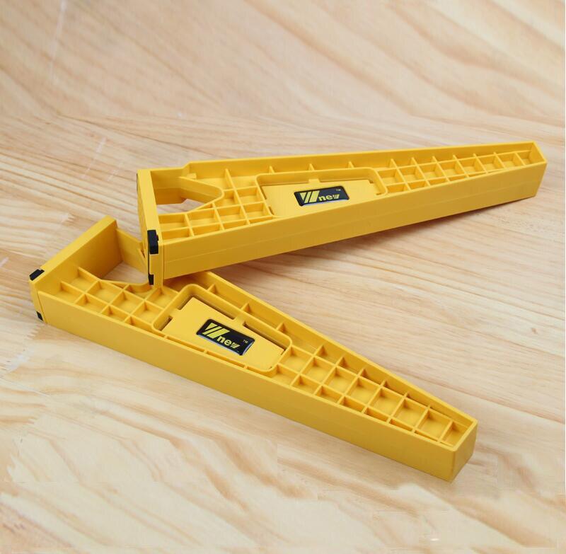 1 Unidades = 2 piezas cajón instalación Jig carpintería herramientas de apoyo