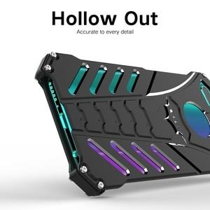Image 3 - Funda de teléfono Huawei Honor 10 Carcasa de aluminio a prueba de golpes para Fundas Huawei Honor 10 Honor10 Armor Protection funda para hombres