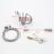 L tamaño Nueva Cerradura de Acero Inoxidable Male Chastity Device con Catéter Cinturón de Castidad Jaula Del Martillo Del Pene Anillo de La Virginidad Bloqueo A230-2