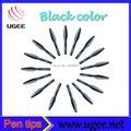 Tableta UGEE pluma digital , plumillas color negro 10 unids/lote