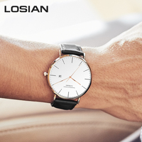 Watch Men 2018 New Fashion Waterproof Calendar Shock 3mm Slim Top Men Watches Luxury erkek kol saati Relogio Masculino