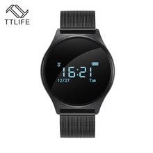 TTLIFE монитор сердечного ритма Смарт браслеты крови Давление Смарт-часы многоязычный call и SMS оповещение браслеты мужские часы