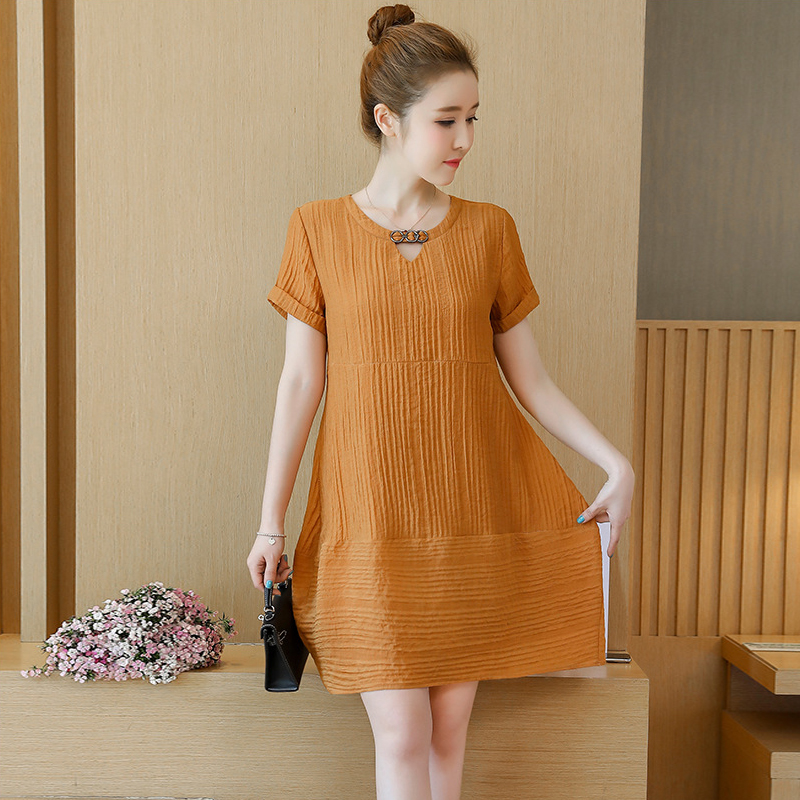 76ea302bb7788 Detail Feedback Questions about Maternity Dress New Summer Pregnancy  Clothing Korean Chiffon A Word Dresses Loose Thin Large Size Pregnant Women  Dress ...