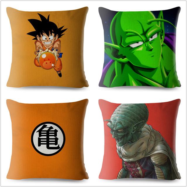 Anime Dragon Ball Goku Cushion Cover