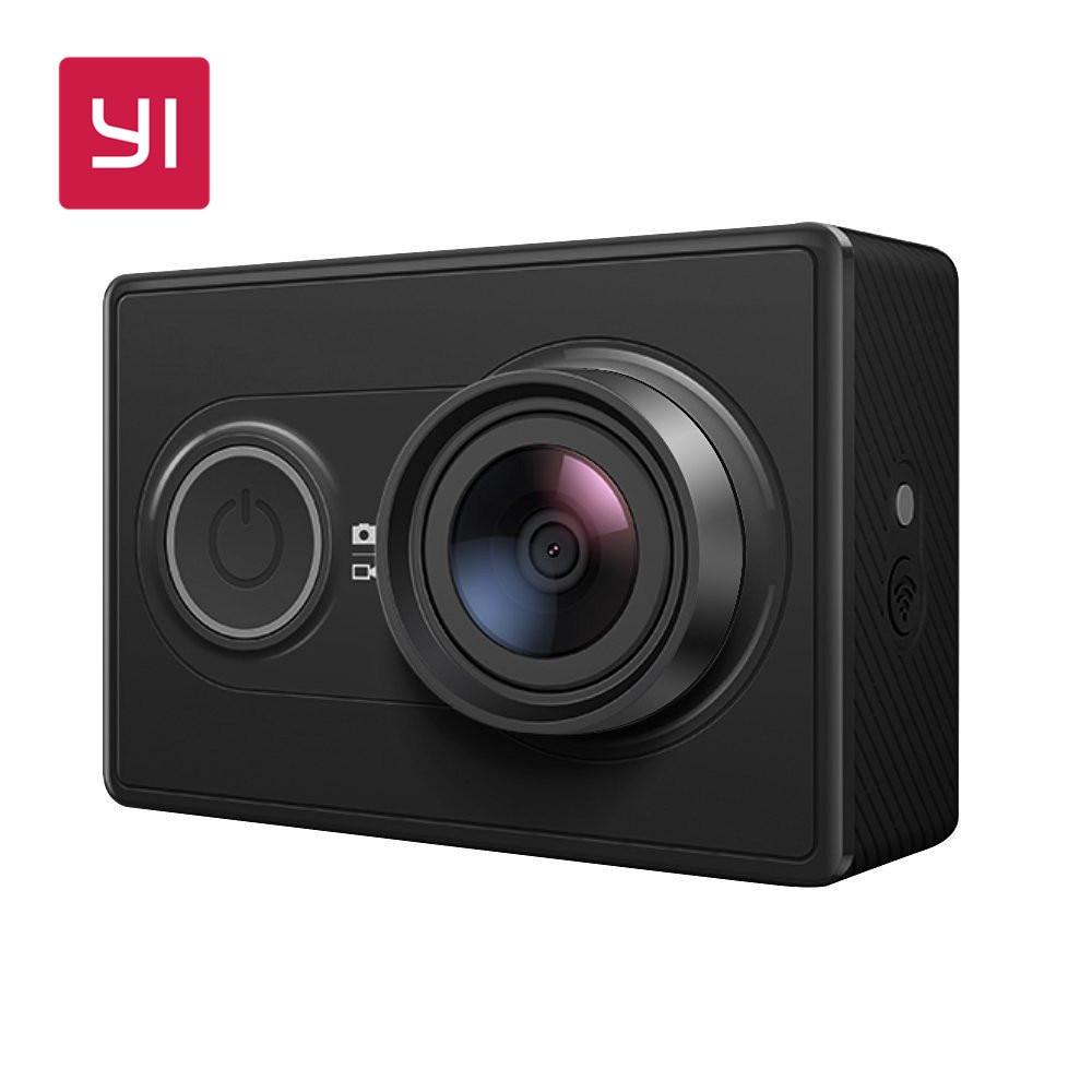 YI 1080P Action Camera Black International Version 16 0MP 155 degree Ultra wide Angle Mini Sports