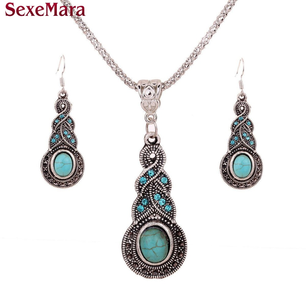 Compare Prices on Wedding Blue Jewelry Sets Online ShoppingBuy