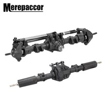 MEREPACCOR RC Car Front Rear Straight Complete Axle for 1:10 RC Crawler Axial SCX10 II 90046 90047 Upgrade Parts|Parts & Accessories| |  - AliExpress