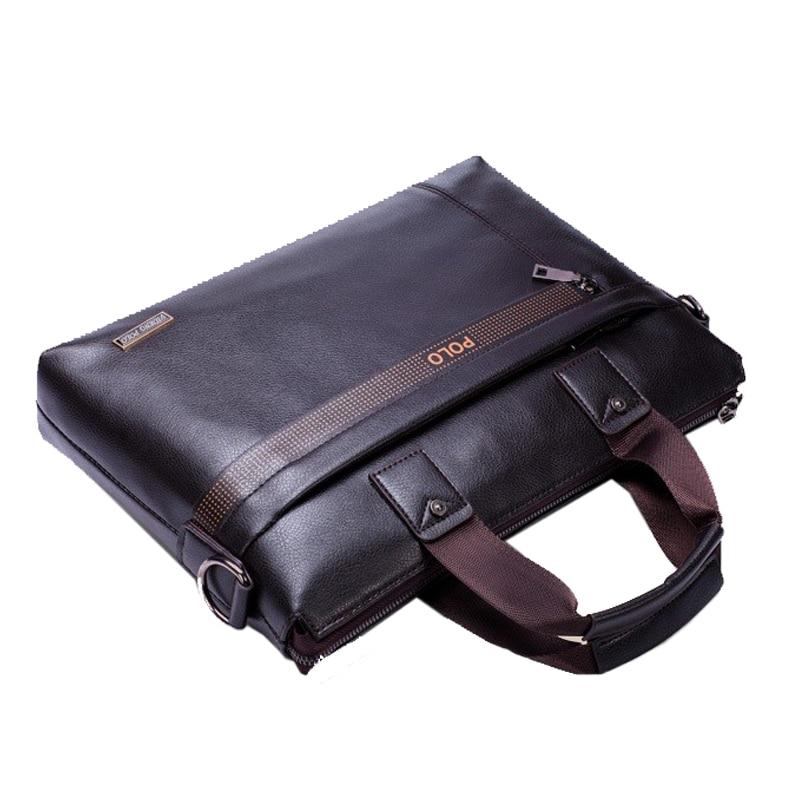 5d7a9a7d3a29a 2018 New Luxury Brand Leather Men Handbag Classic Designer POLO Man  Crossbody Shoulder Bag Casual Messenger Bag A4 Briefcase on Aliexpress.com
