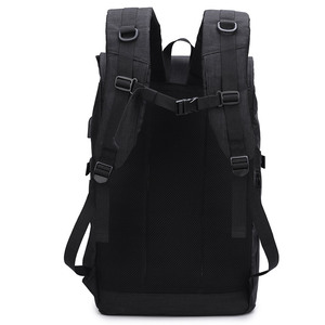 Image 5 - 2020 New Multifunction Men Backpack USB Charging 40L Large Capacity Out Door For Male Black Travel Backpacks Fashion School Bags