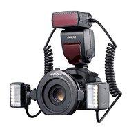 YONGNUO YN 24EX Макро Вспышка Speedlite макро Твин Lite ttl вспышка для Canon Крупным планом фотография/Макросъемка