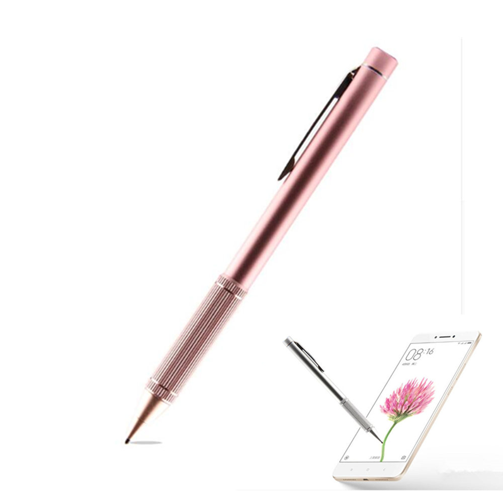 Active Stylus Touch Pen with NIB 1.4 mm Ultra Fine Tip for iPad HUAWEI Samsung iOS Android Tablets Capacitive touch screen Pen touch screen stylus pen with 3 5mm anti dust plug for samsung galaxy note i9220 more red