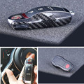 100% Real Pure DRY Carbon Fiber Car Key Case Cover Shell For Porsche Panamera 2009-2015/ Macan 2014- 2015/ Cayenne 2011-2015