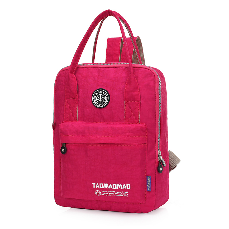 Frauen rucksack hochwertige nylon schultasche mochila feminina rucksack rucksack