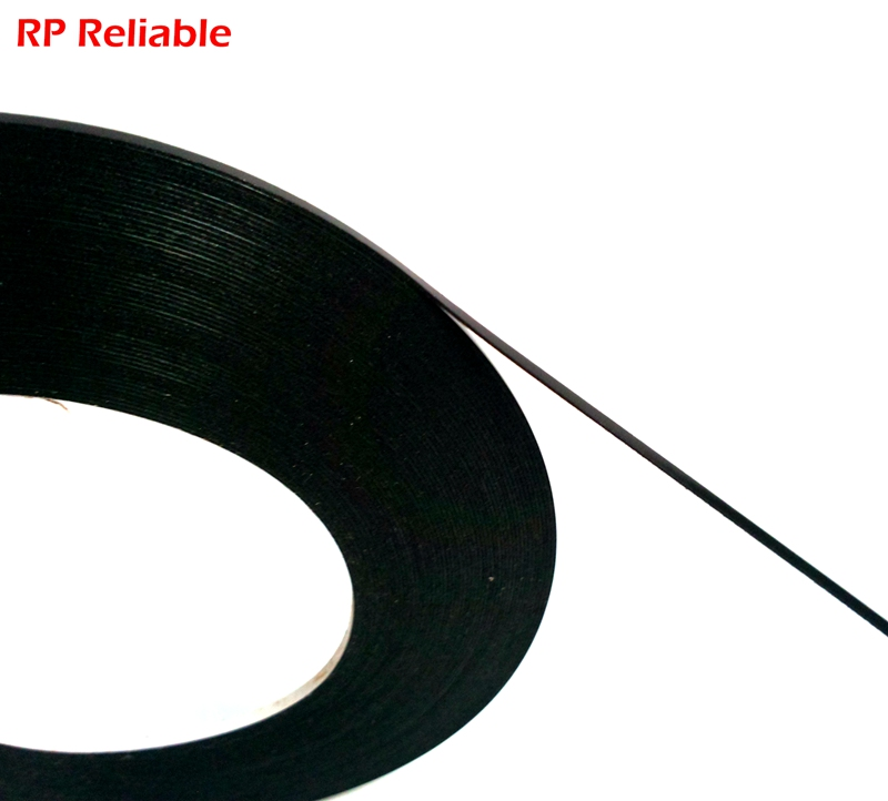 2mm Wide, (0.5mm Thick), 10M/Roll, Double Sides Sticky Black Sponge Foam Tape For Phone Samsung HTC Screen Dust Proof Seal
