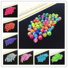 8mm 50pcs AB Round Spacer Loose Beads DIY Jewelry Making Necklace Bracelet Earring Accessories