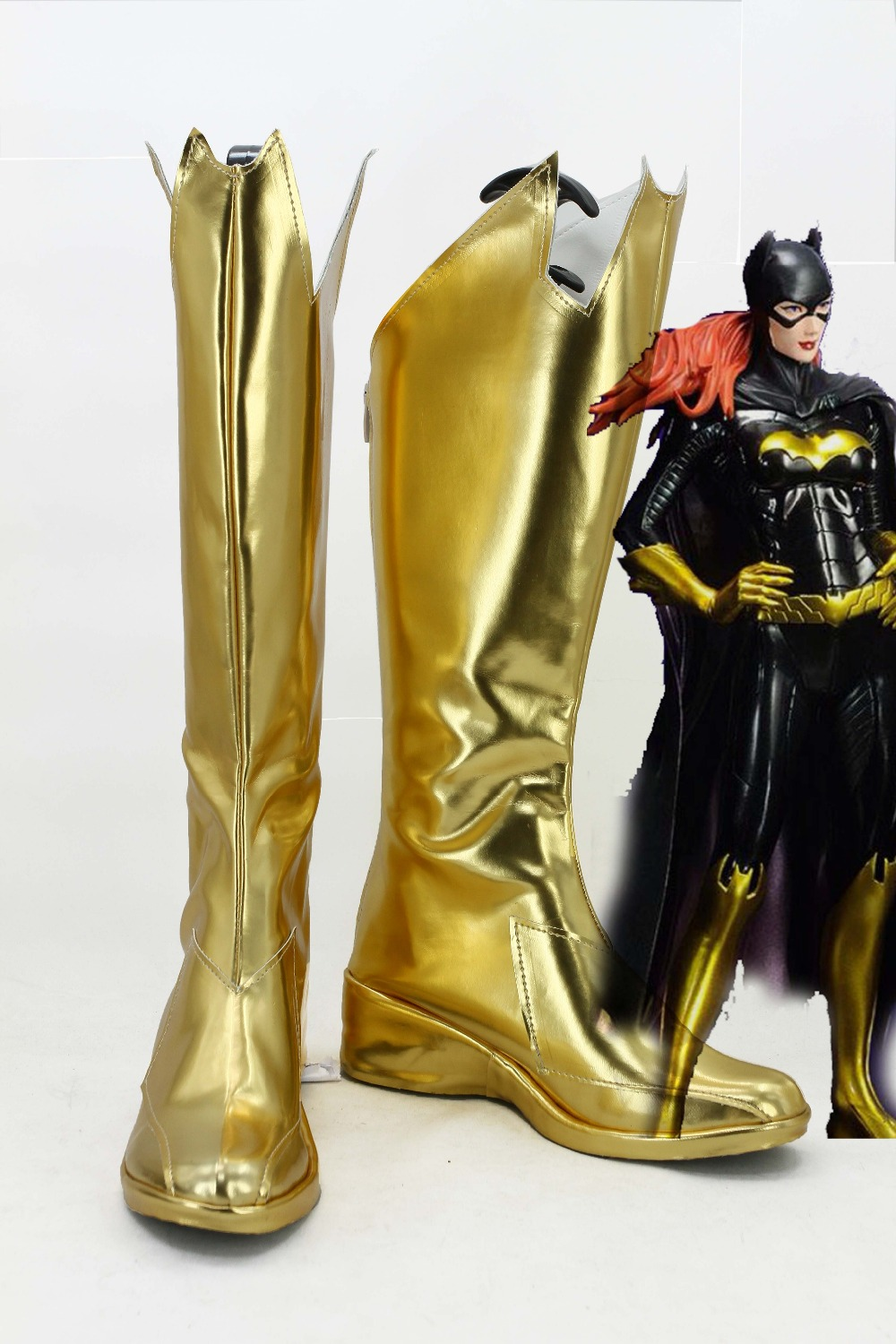 Batman: Arkham Knight Batgirl Cosplay Shoes Boots