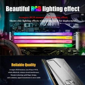 Image 4 - MAXSUN RGB תאורה ram ddr4 8gb 2666/3000MHz ממשק 288pin 17 17 17 39 זיכרון מתח 1.2V אחריות לכל החיים memoria
