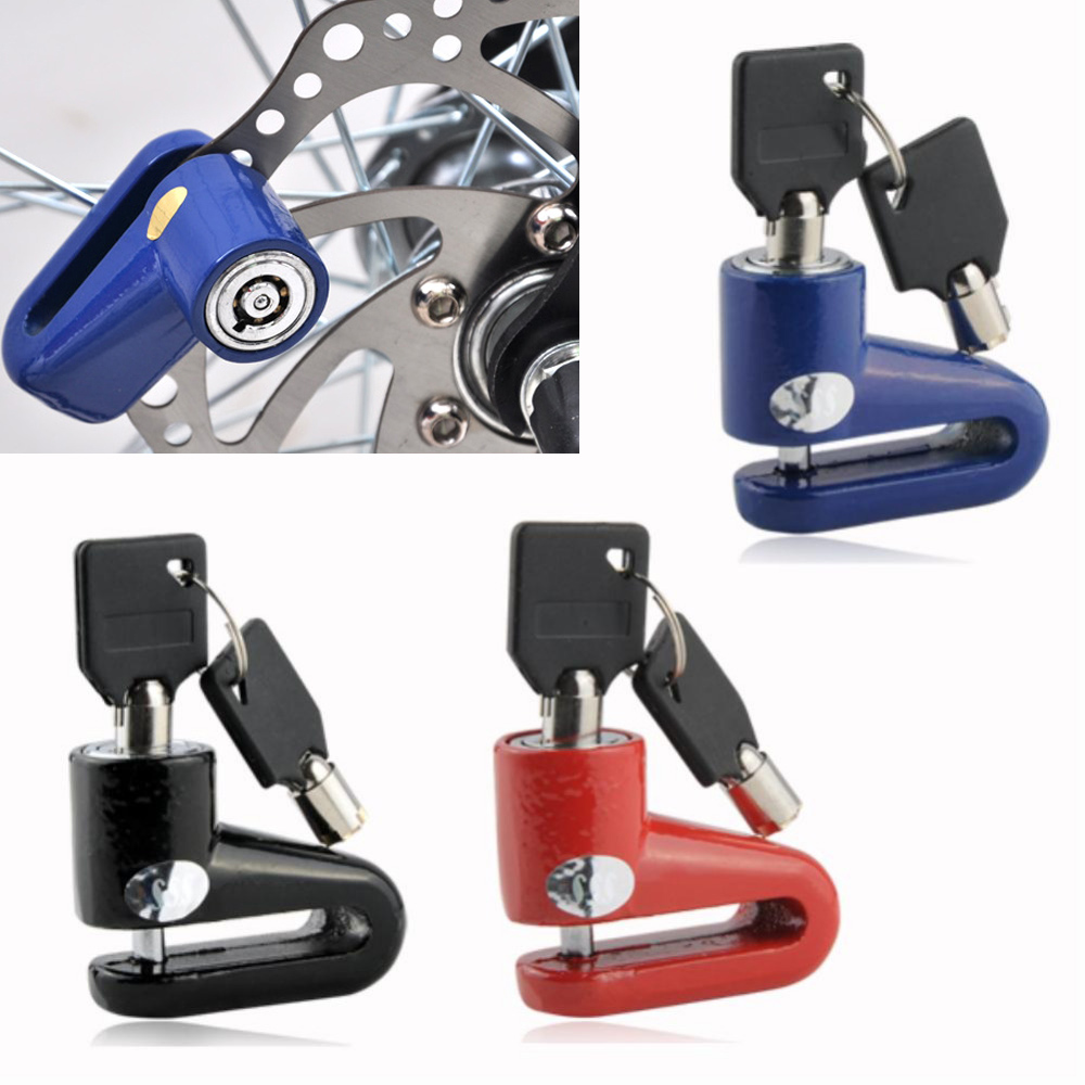 New Available Scooter Cycling Safety Anti-theft Disk Disc Bicycle Motorcycle Brake Rotor Lock FZS002