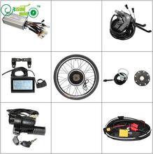 ЕС DUTY FREE Электрический велосипед 36 V 48 V 750 W передний или задний мотор колесо Байк, способный преодолевать Броды для преобразования Наборы 14 «-29″/700C с LCD3 Дисплей