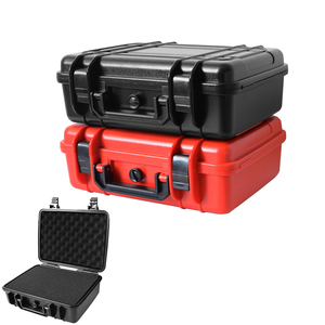 Protective Safety Instrument Tool Box Waterproof Storage Toolbox Equipment Suitcase Impact Resistant Tool Case Shockproof w foam