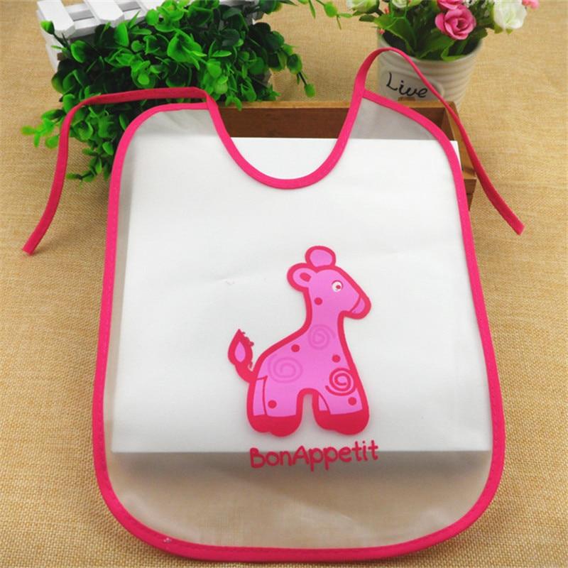 Baby Products 2016 New Baby Bibs EVA Cartoon Animals Lace Waterproof Anti-dirty Bib Four Aeasons Available Unisex Baby Bib