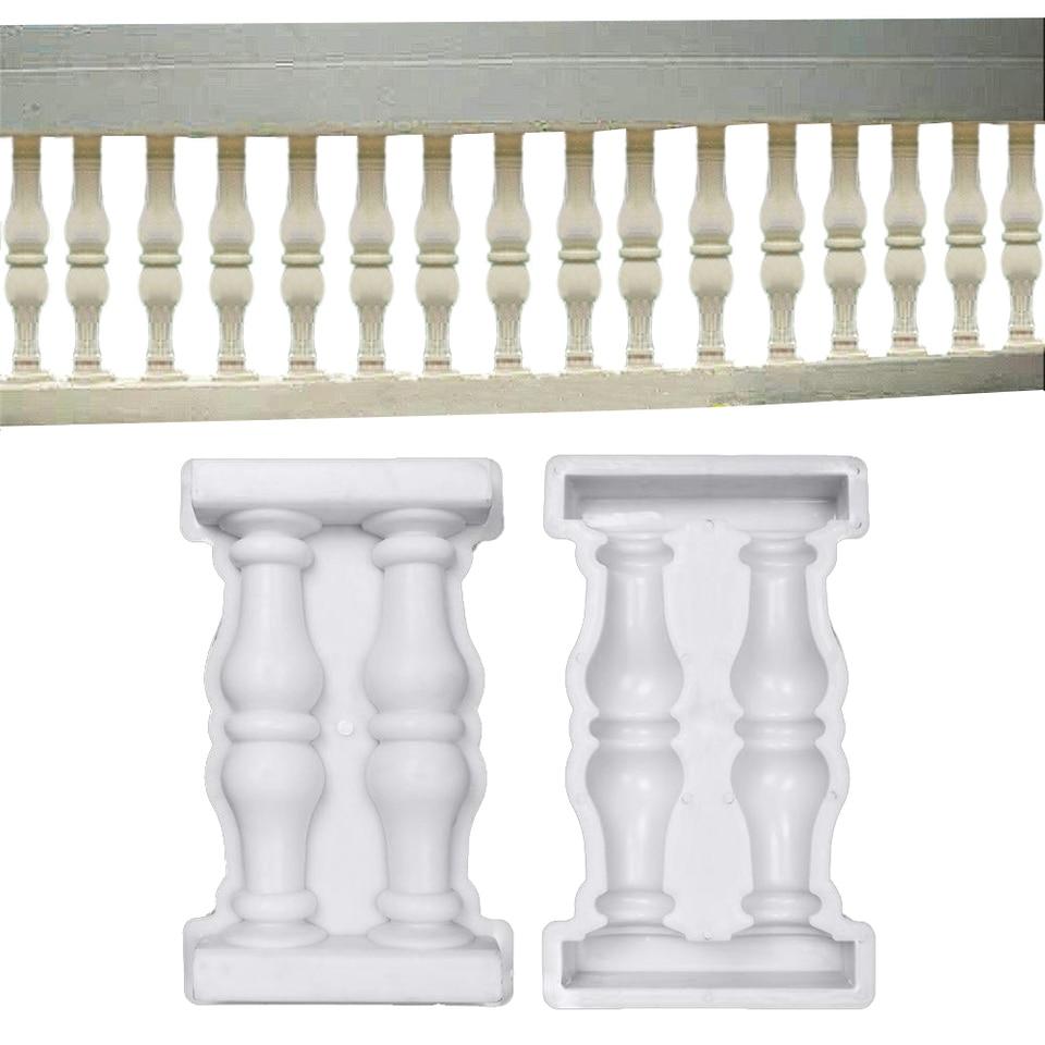 Antike Retro Zement Romischen Spalte Form Balkon Zaun Form Zement