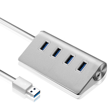 USB 3.0 Hub Aluminium alloy USB Splitter 3 hub 5Gbps Super Speed 4 ports Multiple 3.0 USB Hub for PC Computer Accessories Laptop binful super speed usb 3 0 hub 3 port 5gbps micro usb hub high quality hub usb splitter adapter for pc computer