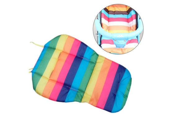 High Quanlity Colorful Stripes Anti Dirty Baby Safety Seats Hot Sell Baby Shopping Cart  ...