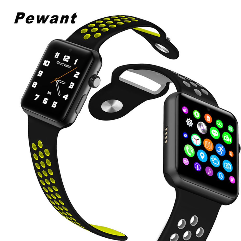 Pewant Smart Watch DM09 Plus Bluetooth Watch Support SIM Card Smartwatch For Apple Watch Huawei Android IOS Phones PK IWO 2 3 цена