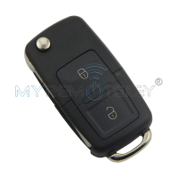 Flip car remote key for VW Volkswagen Passat Golf Bora Beetle Skoda Seat 2 button 1J0959753AG ID48 434Mhz 2000 - 2005 remtekey