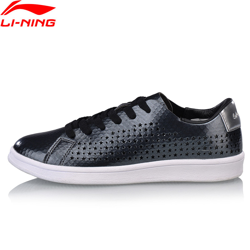 Li Ning Women LN ENTERNITY Leisure Walking Shoes Wearable Breathable LiNing Fitness Sports Shoes Classic Sneakers