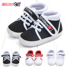 2019 Newborn Baby Shoes Skid-Proof Soft Genuine Leather Boys Girls Infant  0-6 3-12 13-18 First Walkers