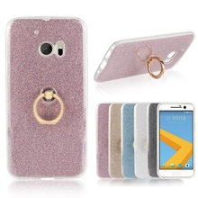 For HTC One M10 5.1inch Cover Case Glitter Powder Rings Soft TPU Mobile Phone Case For HTC M10 phone Fundas Shell case