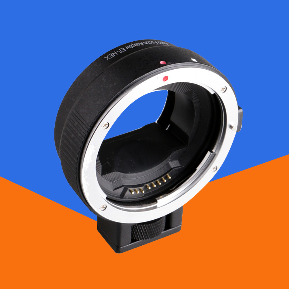 Ef-nex adapter auto focus lens for canon eos ef ef-s lens for sony e nex full frame a7ii a7 a7r a7sii a6300 a6500 a6000 NEX-/6/ lens adapter ring suit for hasselblad to sony nex for 5t 3n nex 6 5r f3 nex 7 vg900 vg30 ea50 fs700 a7 a7s a7r a7ii a5100 a6000