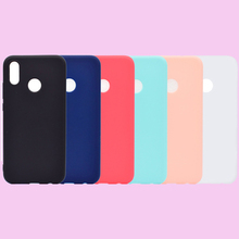 Fashion Candy Colors Soft TPU Case Phone Silicone Cover Shell Coque Fundas Hull for Huawei P20 Lite Pro Nova 3 3i Funda