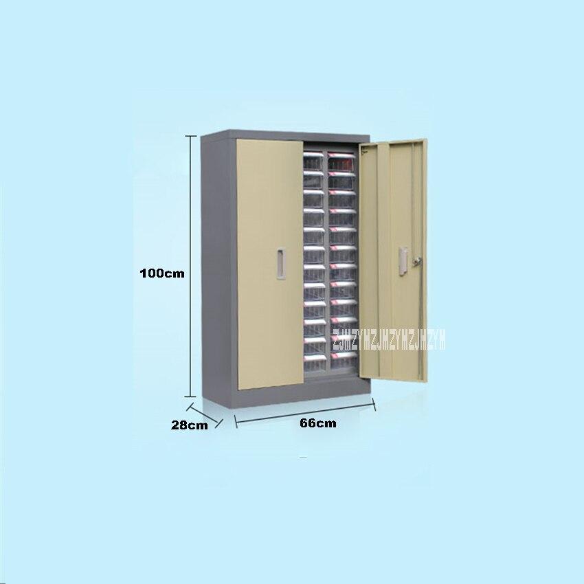 48 Parts Drawer TypeStand Toolbox Plastic Screw ClassificationComponent Drawer HardwareParts Storage Case CraftCabinet