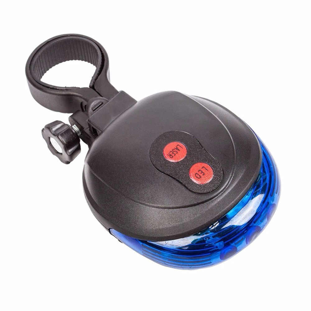 חיצוני דינמי 2 לייזר + 5 LED מהבהב בטיחות זנב רכיבה על אופניים אופניים אופני מנורת אור אחורי כחול אביזרי ספורט ciclismo