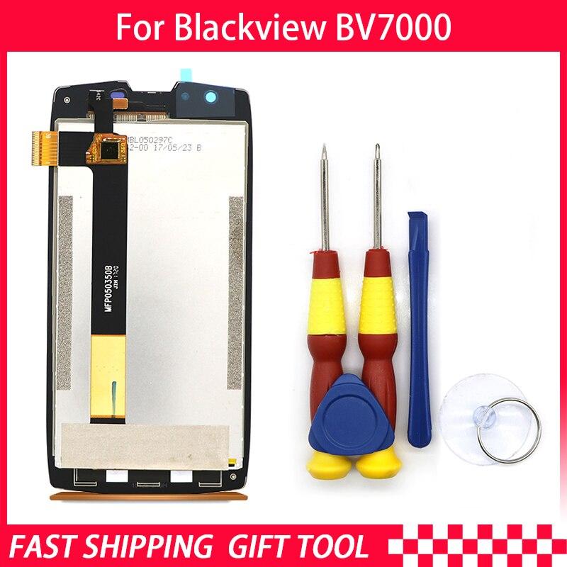 100% D'origine Blackview BV7000 LCD Display + Assemblée D'écran Tactile Pour Blackview BV7000 BV7000pro Outils + 3 m Adhésif