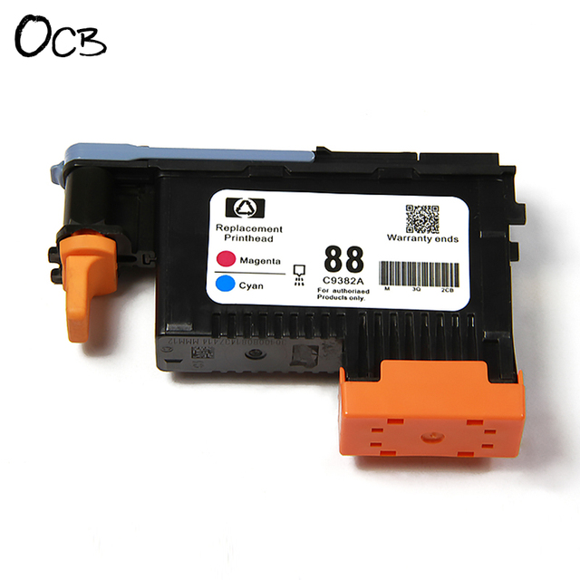 2 pieces for hp 88 c9381a c9382a printhead for hp officejet pro rh aliexpress com