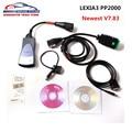 Lexia 3 Lexia3 PP2000 Diagbox v7.76 к v7.83 Полный Чип 921815C v7.83 Automotriz Диагностический Инструмент Lexia3 PSA XS Evolution