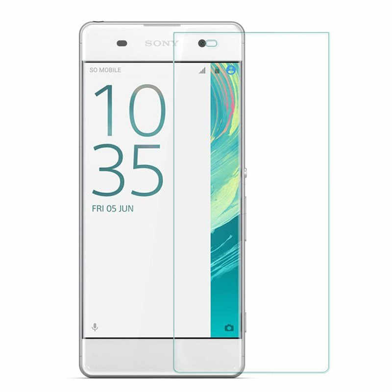 "Para Sony XA de vidrio templado 9H 2.5D Premium de película Protector de pantalla para Sony Xperia XA f3111 f3113 f3115/XA Dual F3112 F3116 5,0"""