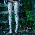 Princesa dulce pantimedias lolita caracteres literatura y el arte departamento de forestal dulce pájaro de la mosca de impresión pantimedias LKW97