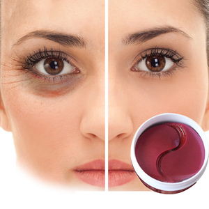 Image 3 - 60 Pcs/בקבוק עין מסכת מתחת לעיניים PatchesDark עיגולים מסיר לחות נגד קמטים קריסטל קולגן עיניים מסכות
