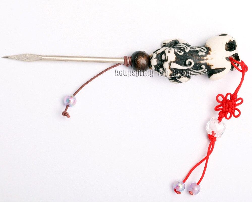 elegant Bone Tea Needle/Knife/Cutter,For making Ripe/Raw Puerh tea,Puer tea accessories,bodhi Seeds arts,with Secret gifts