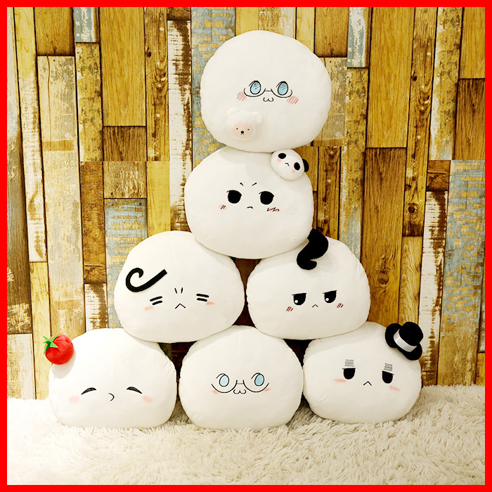 New Kawaii 30Cm APH Emoji Cartoon Plush Toy Axis Powers Hetalia Peluche Doll for Kids Gift Cute Stuffed Toys Home Sofa Pillow super cute plush toy dog doll as a christmas gift for children s home decoration 20